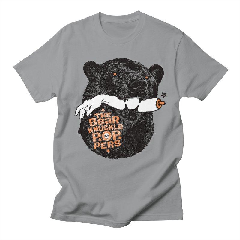 The bear knuckle poppers Men's T-shirt by Heldenstuff
