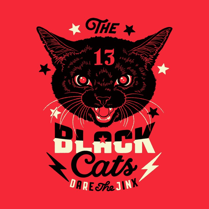 The 13 black cats by Heldenstuff