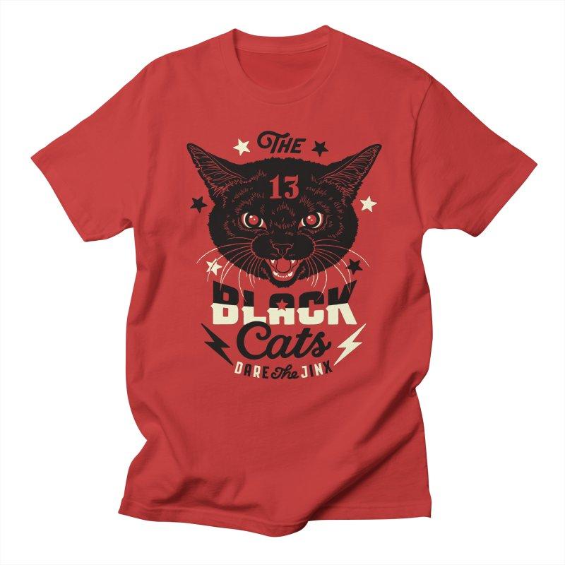 The 13 black cats Men's T-shirt by Heldenstuff