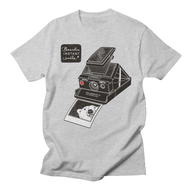 Bearlin instant Men's T-shirt by Heldenstuff