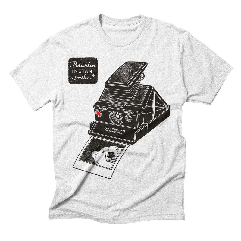 Bearlin instant Men's Triblend T-shirt by Heldenstuff