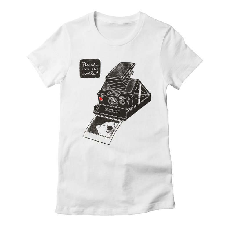 Bearlin instant Women's Fitted T-Shirt by Heldenstuff