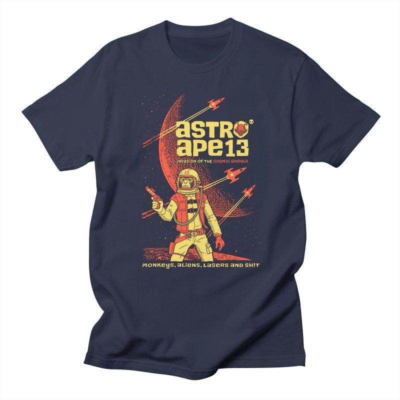 astro ape Men's T-shirt by Heldenstuff