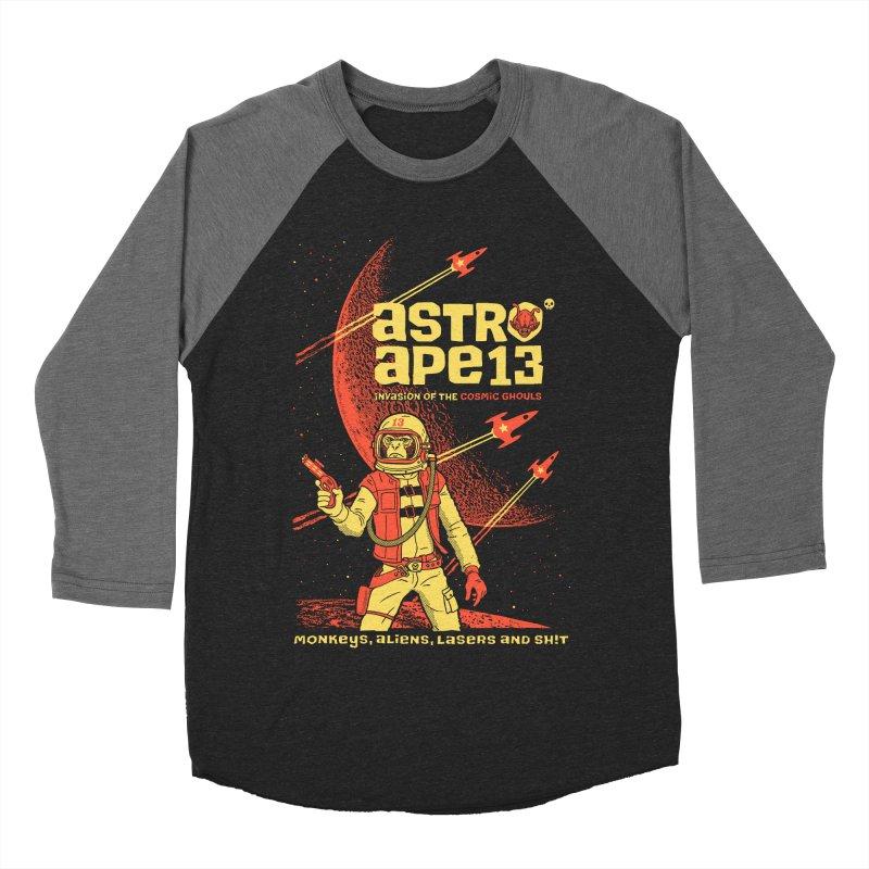 astro ape Women's Baseball Triblend T-Shirt by Heldenstuff