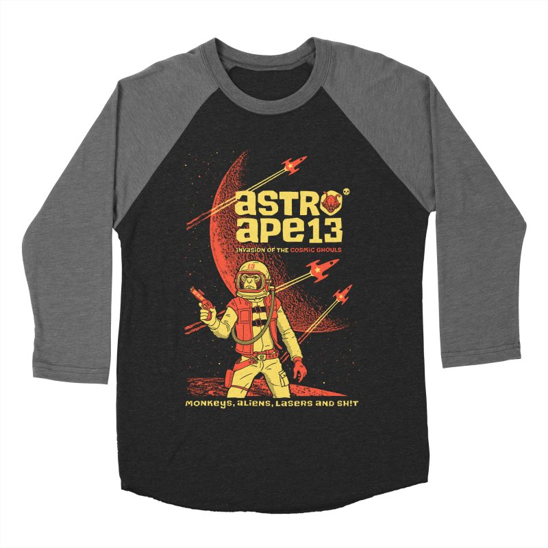 astro ape Men's Baseball Triblend T-Shirt by Heldenstuff