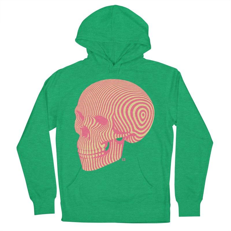 skull no. 1 Men's Pullover Hoody by Heldenstuff