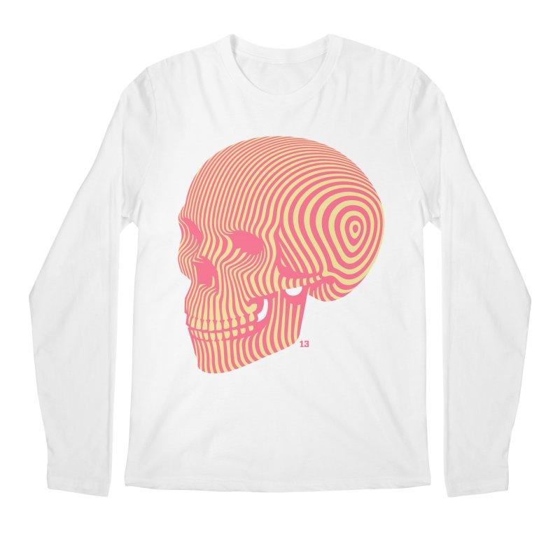 skull no. 1 Men's Longsleeve T-Shirt by Heldenstuff