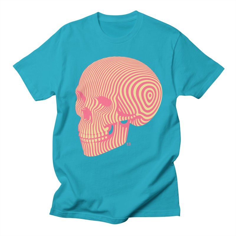 skull no. 1 Men's T-shirt by Heldenstuff