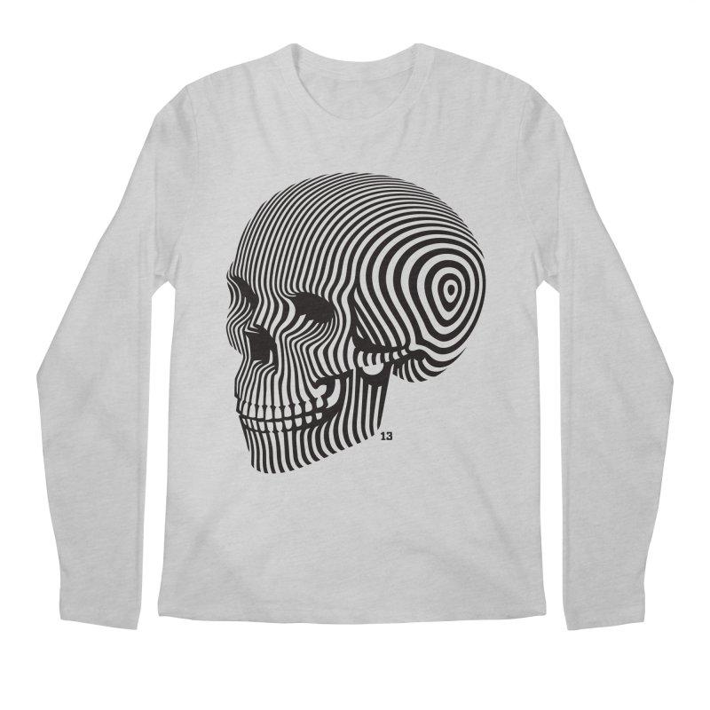 skull no. 1 / blk & wht   by Heldenstuff