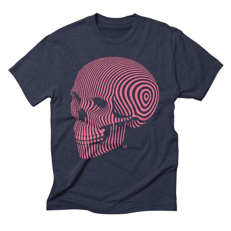 skull no. 1 / 812 Men's Triblend T-shirt by Heldenstuff