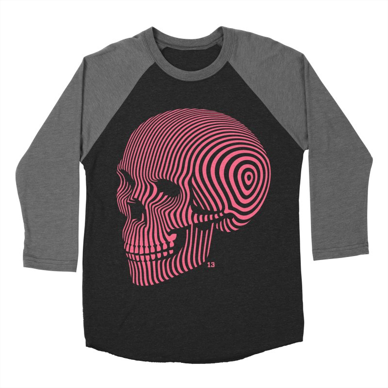 skull no. 1 / 812 Men's Baseball Triblend T-Shirt by Heldenstuff