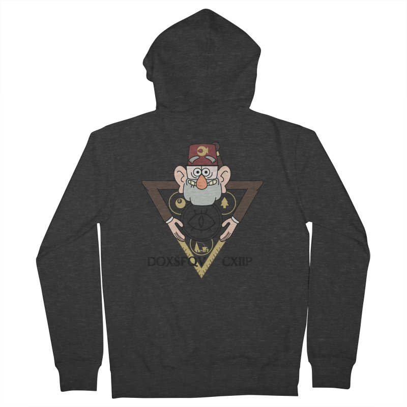 grunkle stan is not what he seems Women's Zip-Up Hoody by helder's Artist Shop