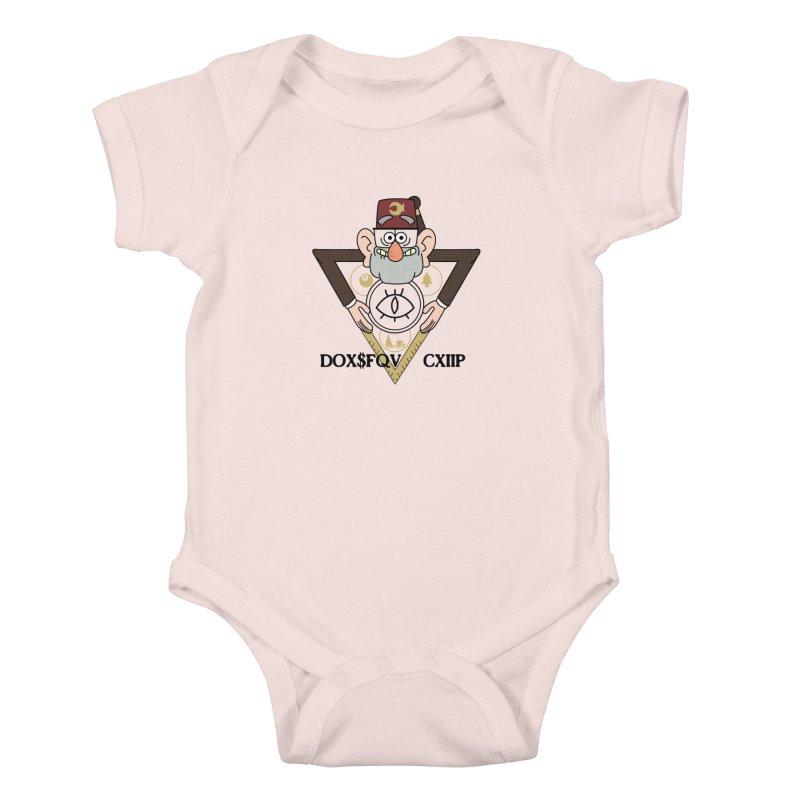grunkle stan is not what he seems Kids Baby Bodysuit by helder's Artist Shop