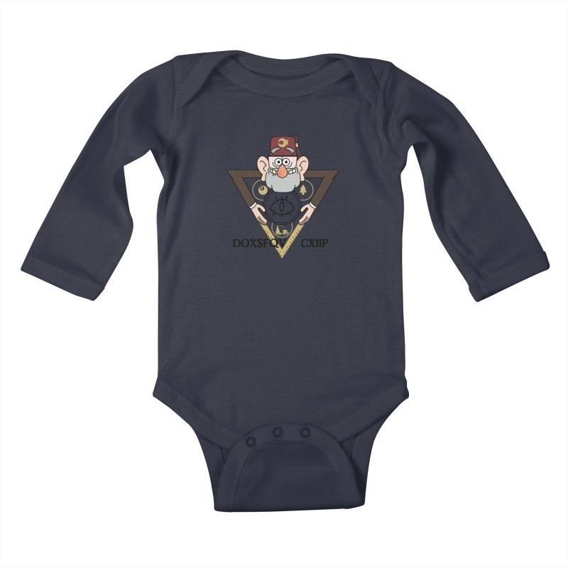 grunkle stan is not what he seems Kids Baby Longsleeve Bodysuit by helder's Artist Shop