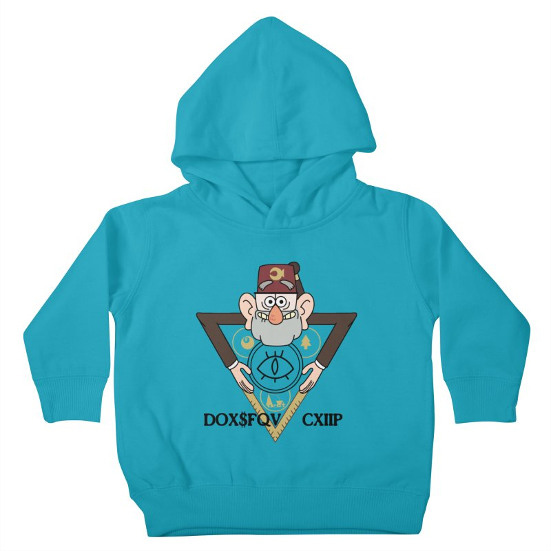 grunkle stan is not what he seems Kids Toddler Pullover Hoody by helder's Artist Shop