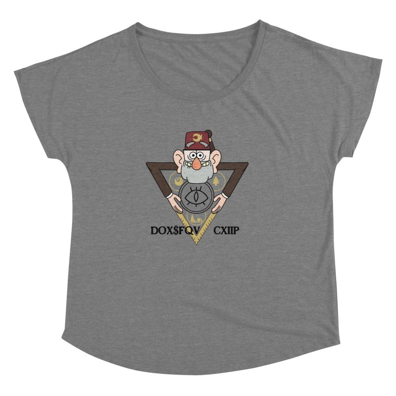 grunkle stan is not what he seems Women's Dolman by helder's Artist Shop
