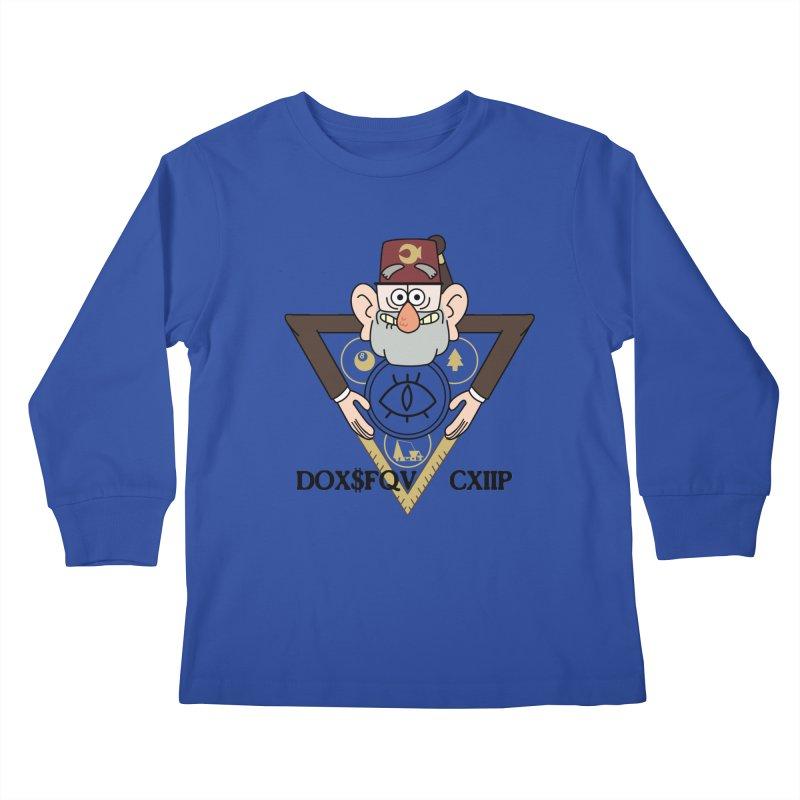 grunkle stan is not what he seems Kids Longsleeve T-Shirt by helder's Artist Shop