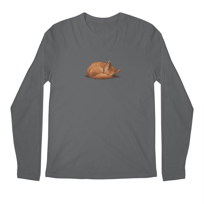 Let Sleeping Foxes Lie Men's Longsleeve T-Shirt by The Art of Helenasia