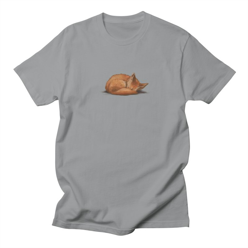 Let Sleeping Foxes Lie Women's Unisex T-Shirt by The Art of Helenasia