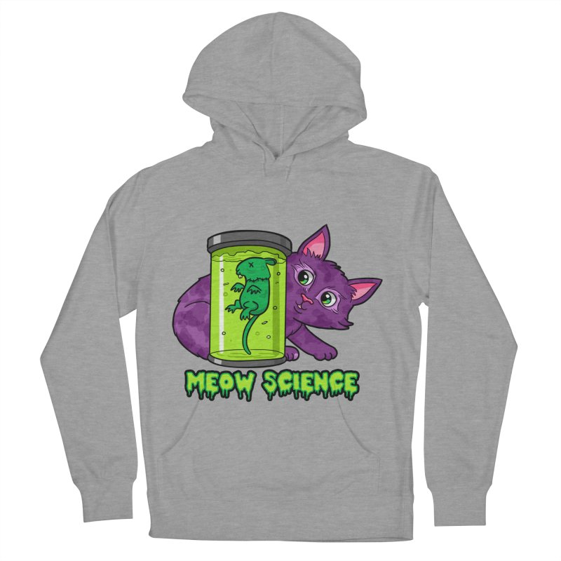 Meow Science Women's Pullover Hoody by The Art of Helenasia