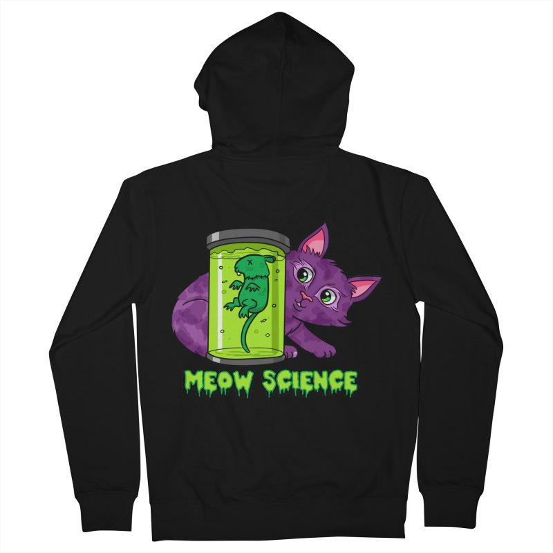 Meow Science Women's Zip-Up Hoody by The Art of Helenasia