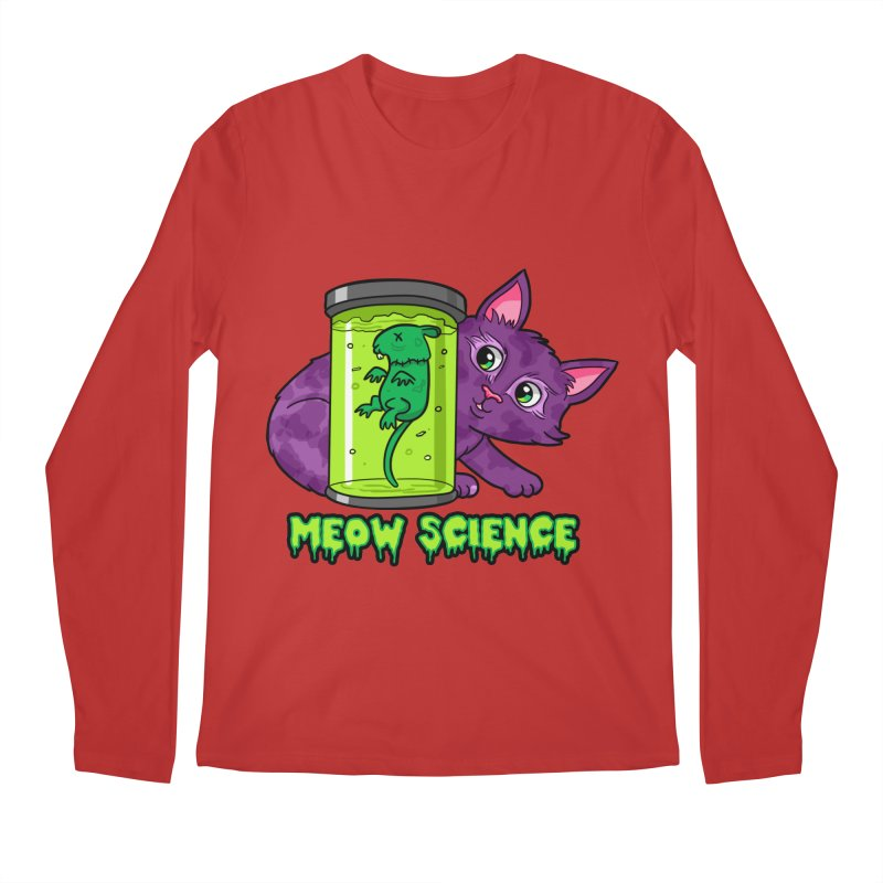 Meow Science Men's Longsleeve T-Shirt by The Art of Helenasia