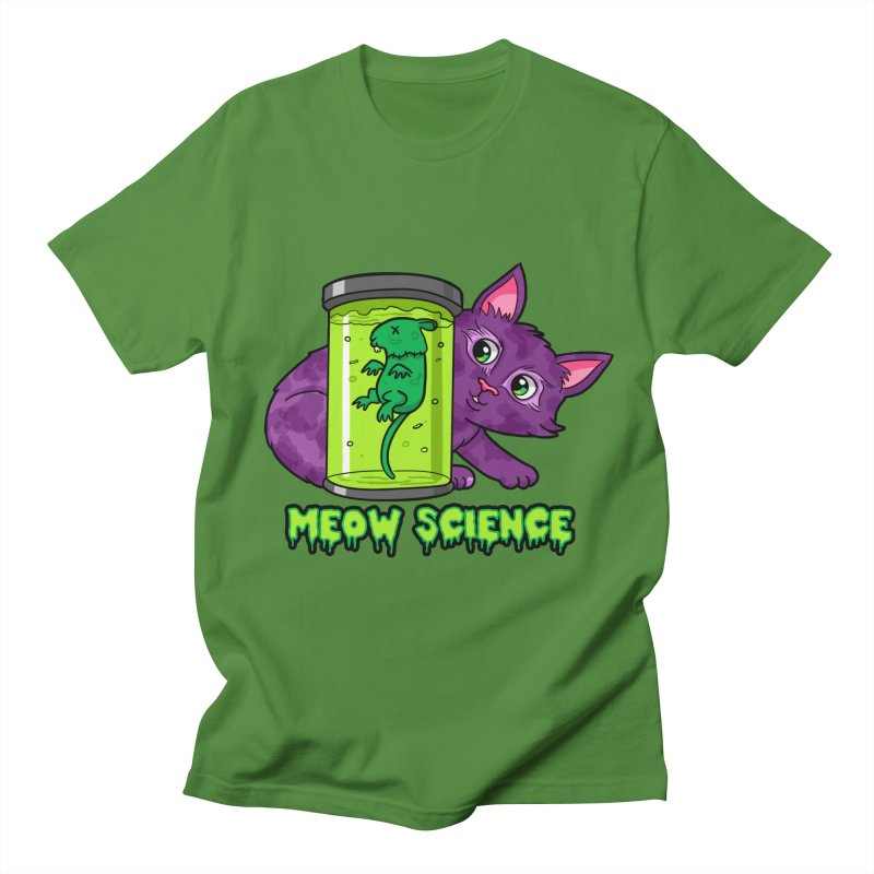 Meow Science Women's Unisex T-Shirt by The Art of Helenasia