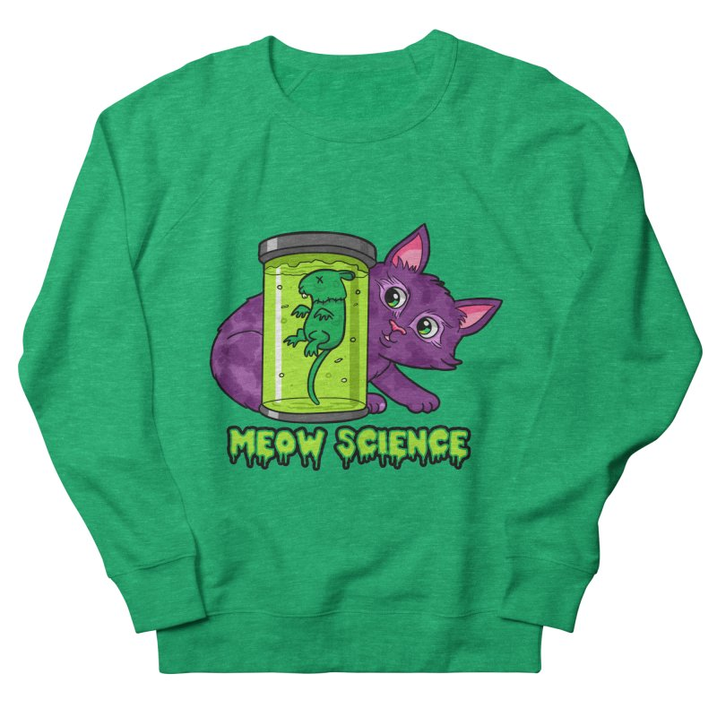 Meow Science Women's Sweatshirt by The Art of Helenasia