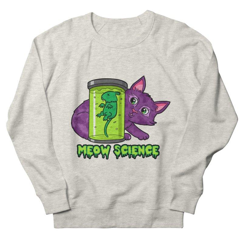 Meow Science Women's Sweatshirt by The Art of Helenasia