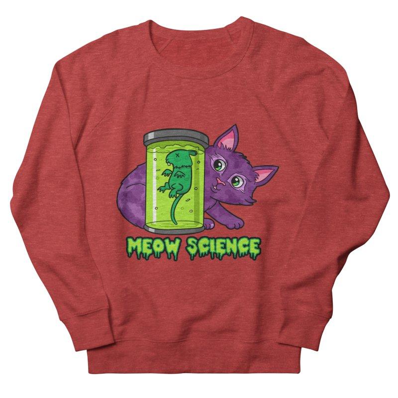Meow Science Men's Sweatshirt by The Art of Helenasia