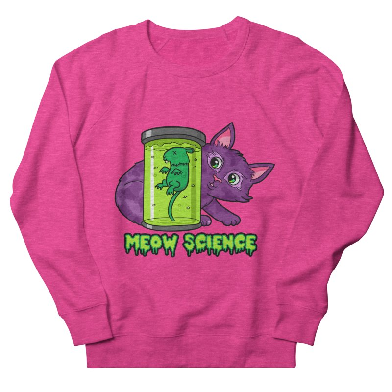 Meow Science Men's Sweatshirt by The Art of Helenasia