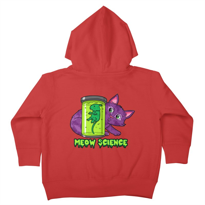 Meow Science Kids Toddler Zip-Up Hoody by The Art of Helenasia
