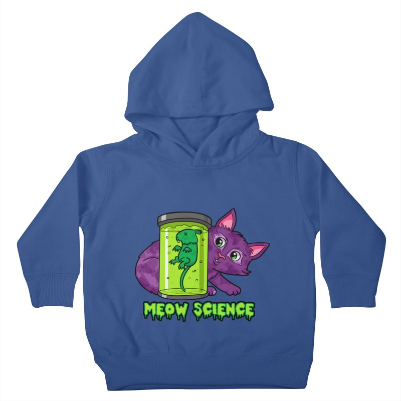 Meow Science Kids Toddler Pullover Hoody by The Art of Helenasia