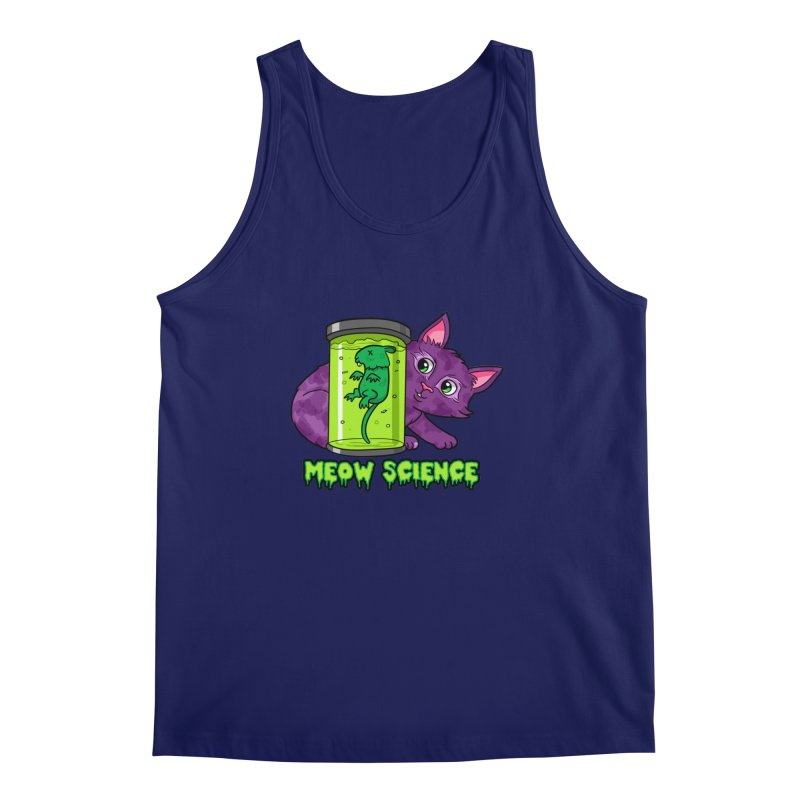Meow Science Men's Tank by The Art of Helenasia