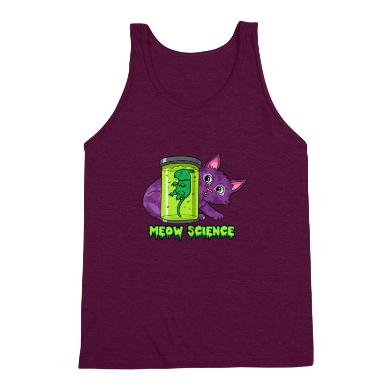 Meow Science Men's Triblend Tank by The Art of Helenasia