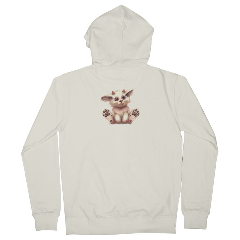 Foxling  Women's Zip-Up Hoody by The Art of Helenasia