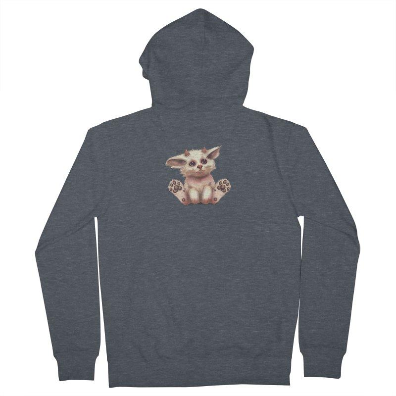Foxling  Men's Zip-Up Hoody by The Art of Helenasia