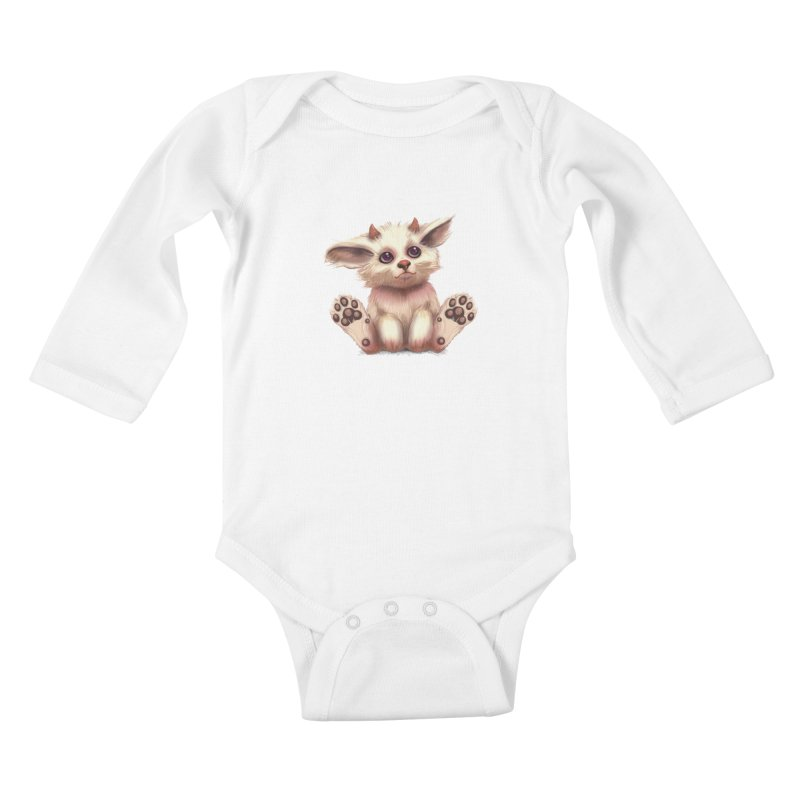 Foxling  Kids Baby Longsleeve Bodysuit by The Art of Helenasia