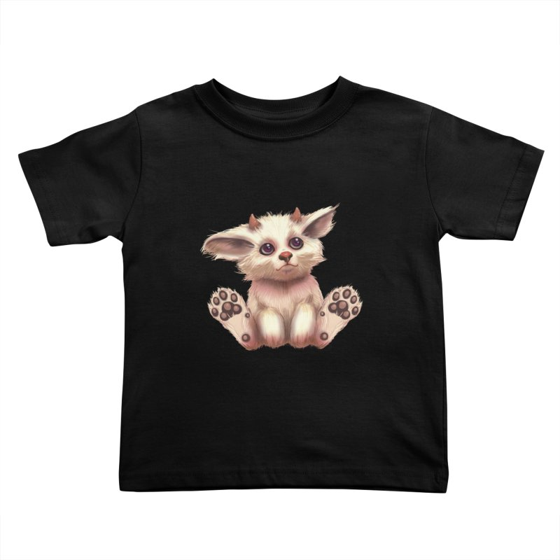 Foxling  Kids Toddler T-Shirt by The Art of Helenasia