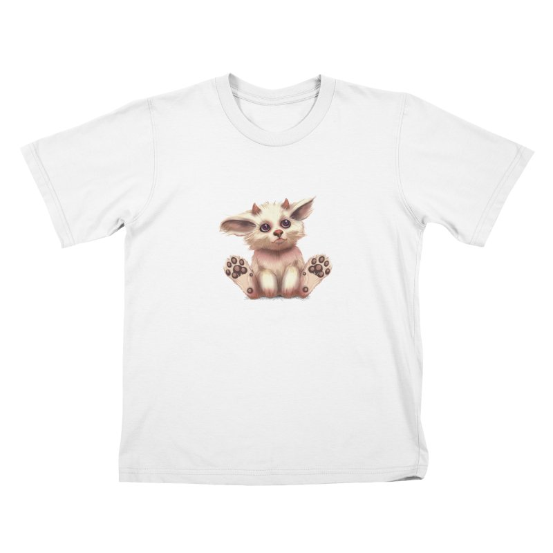 Foxling  Kids T-shirt by The Art of Helenasia