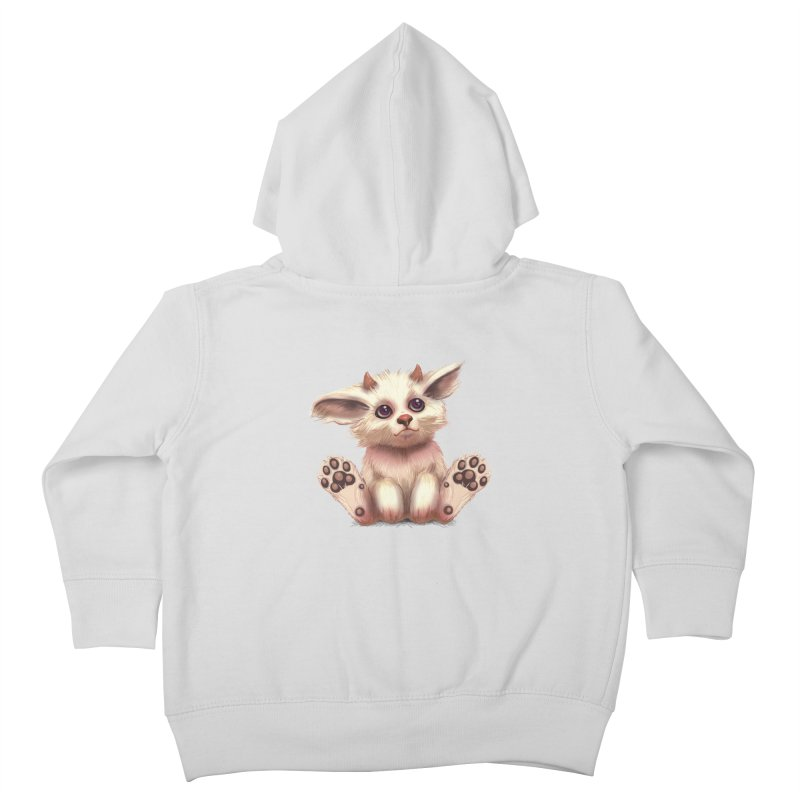 Foxling  Kids Toddler Zip-Up Hoody by The Art of Helenasia