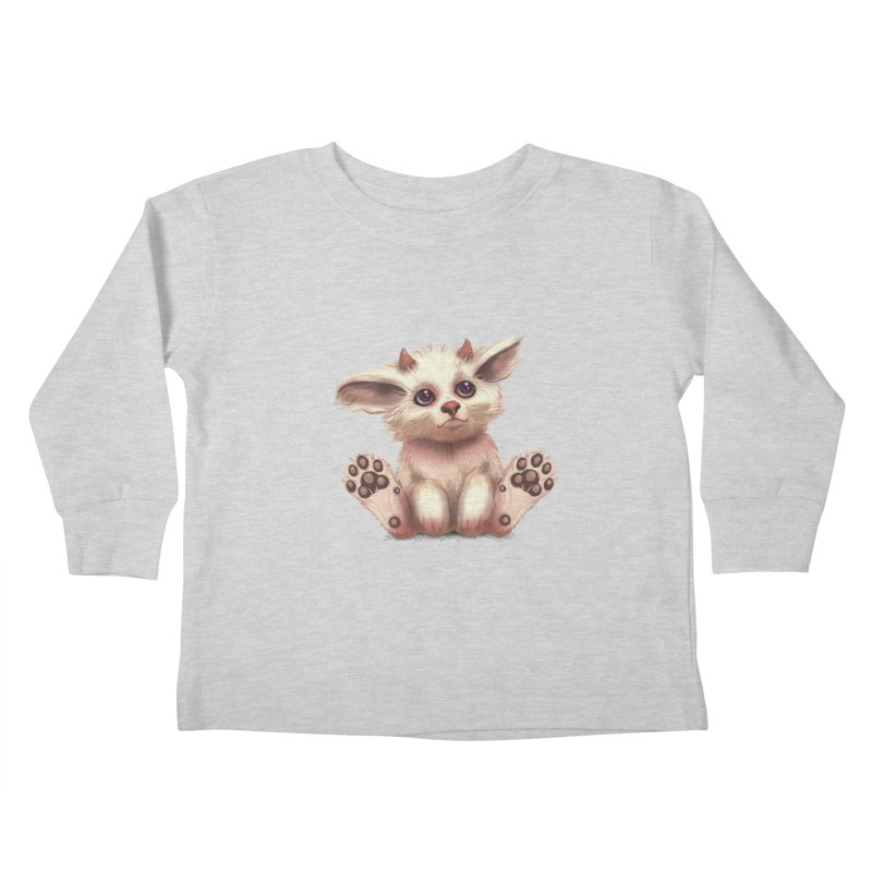 Foxling  Kids Toddler Longsleeve T-Shirt by The Art of Helenasia