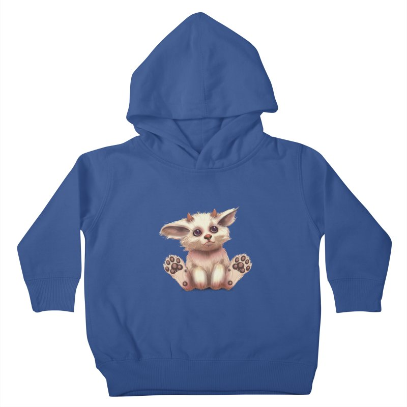 Foxling  Kids Toddler Pullover Hoody by The Art of Helenasia