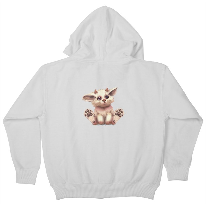 Foxling  Kids Zip-Up Hoody by The Art of Helenasia