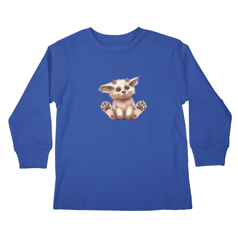 Foxling  Kids Longsleeve T-Shirt by The Art of Helenasia