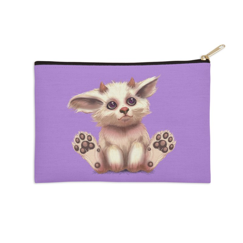 Foxling  Accessories Zip Pouch by The Art of Helenasia