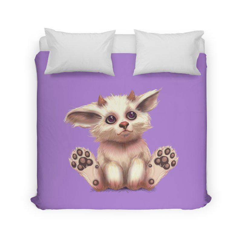 Foxling  Home Duvet by The Art of Helenasia