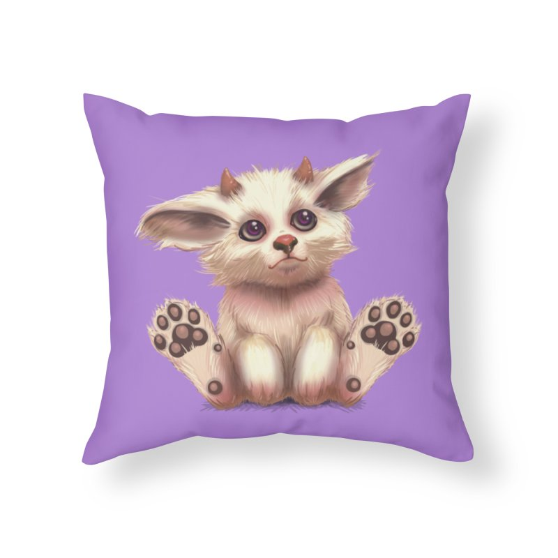 Foxling  Home Throw Pillow by The Art of Helenasia