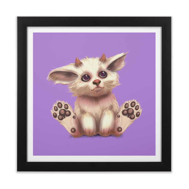 Foxling  Home Framed Fine Art Print by The Art of Helenasia