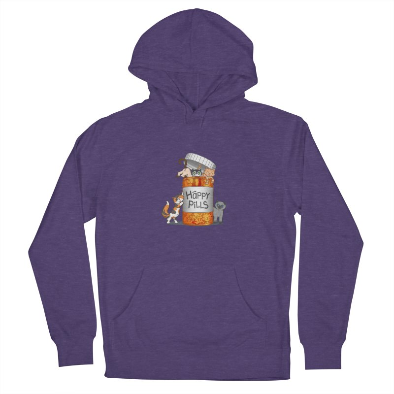 Happy Pills Men's Pullover Hoody by The Art of Helenasia